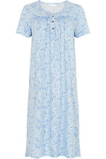 Floral Pleat Detail Nightdress