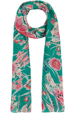Bright Floral Printed Scarf