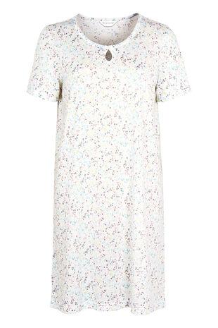 Watercolour Blossom Print Nightdress