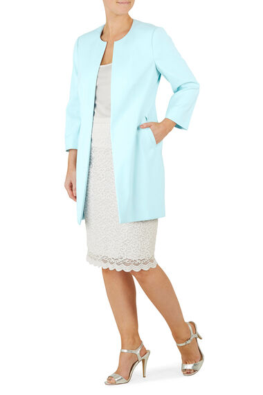 David Emanuel Tailored Dress Coat
