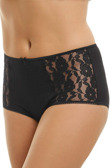 Lace Side Panel Full Brief