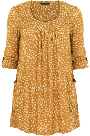 Ann Harvey Crushed Print Tunic