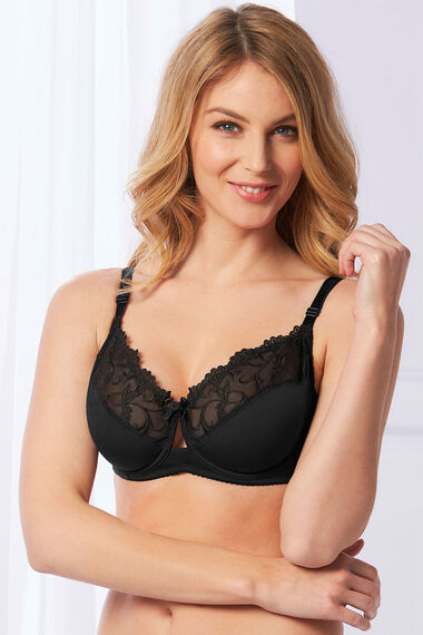 Fuller Bust Lace Underwired Bra