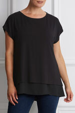 Ann Harvey Double Layer Top