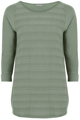 Ann Harvey Textured Check Top