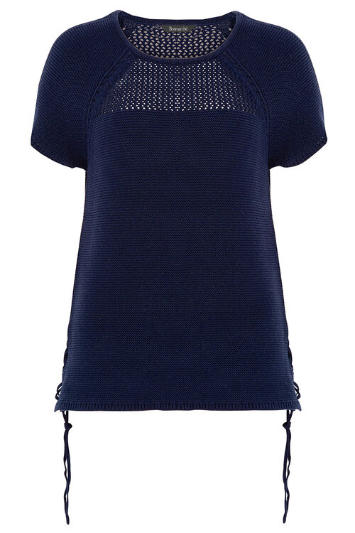 Tie Side Knitted Top