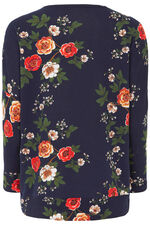 Stella Morgan Soft Touch Floral Sweater