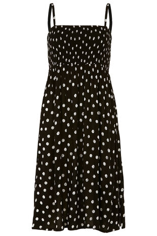 Spot Printed Multiway Dress