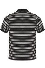 Black Stripe Polo