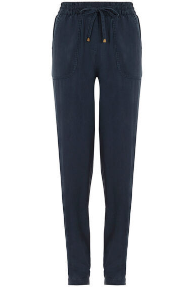 Tie Front Harem Trousers