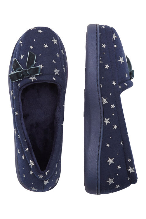 Glitter Star Slipper