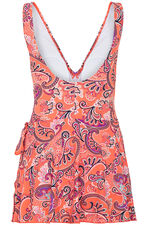Paisley Print Swimdress