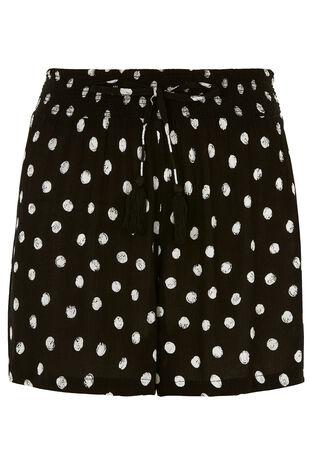Spot Printed Beach Shorts
