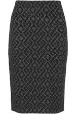 Chevron Pencil Skirt