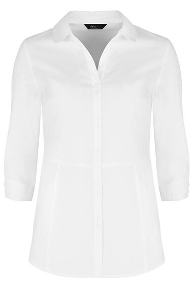 3/4 Sleeve Workwear Blouse