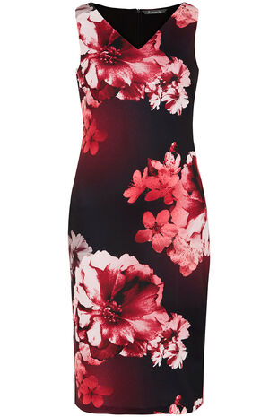 Signature Floral Printed Dress