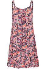 Paisley Print Frill Hem Dress