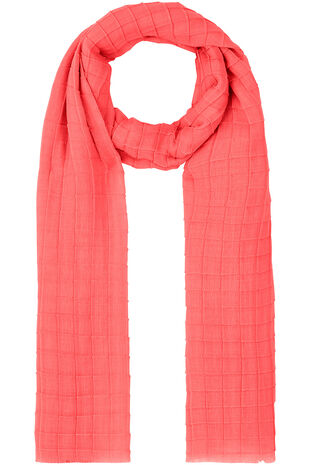 Textured Plain Scarf