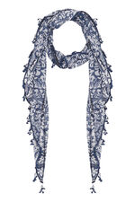 Paisley Jersey Scarf