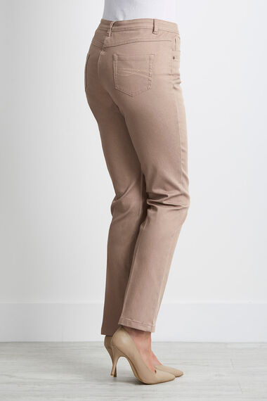 Embroidered Pocket Jeans