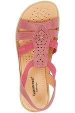 Cushion Walk Elasticated Sandal with Stud Detail