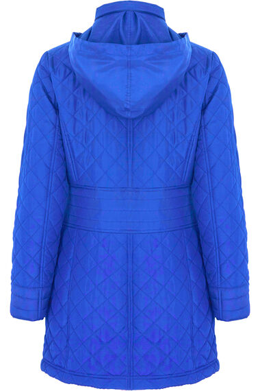 Longer Length Quilted Coat