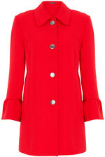 Smart Fluted Sleeve Coat