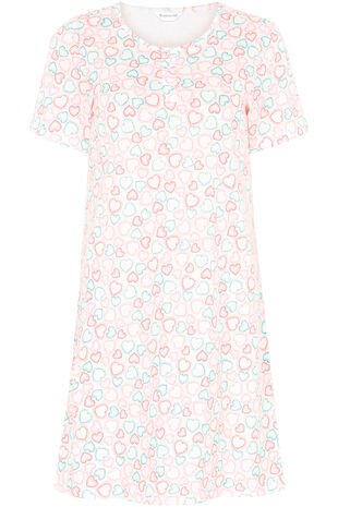 Spotty Heart Nightshirt