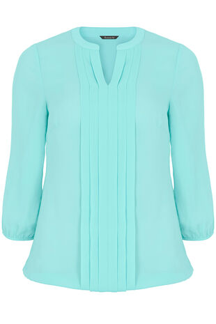 Pleat Detail Blouse