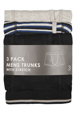 3 Pack Cotton Trunks