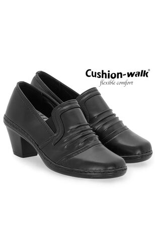 Cushion Walk Smart Heeled Shoe