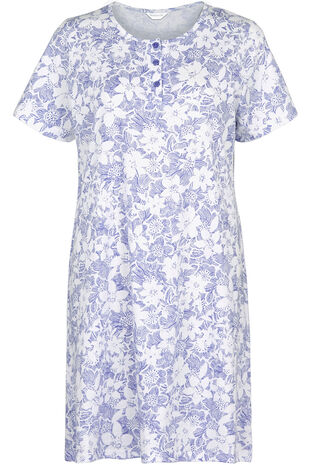 Cornflower Print Nightdress