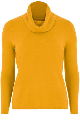 Super Soft Cowl Neck Jumper