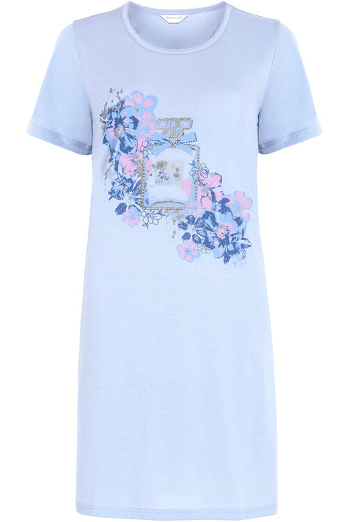 Blue Marl Perfume Bottle Nightshirt