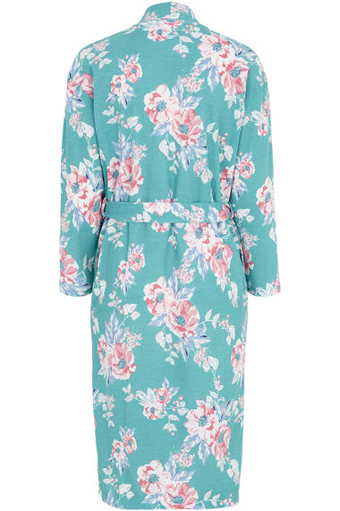Floral Textured Dressing Gown