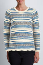 Textured Stripe Jumper