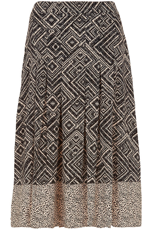 Aztec Printed Skirt