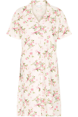Bird Floral Nightshirt