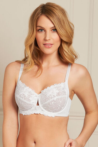 Embroidered Underwired Bra