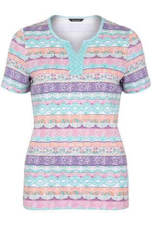Aztec Stripe T-Shirt
