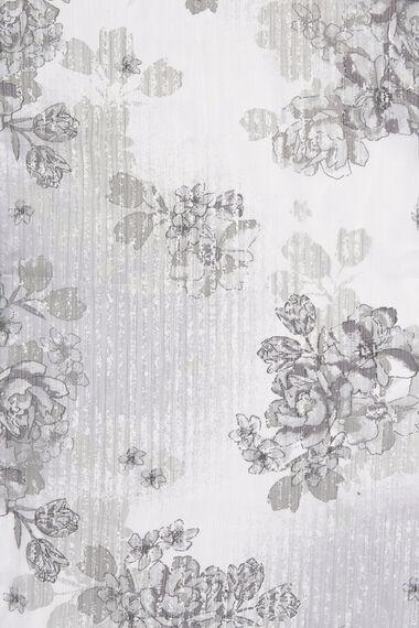 Floral & Diamante Scarf