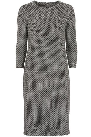 Geo Texture Tunic Dress