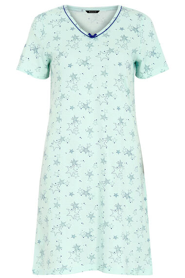 Star Print Nightshirt
