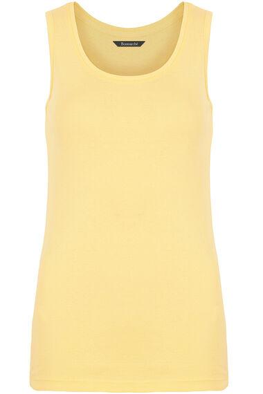 Pure Cotton Scoop Neck Vest
