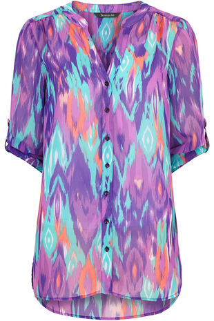 Ann Harvey Printed Blouse
