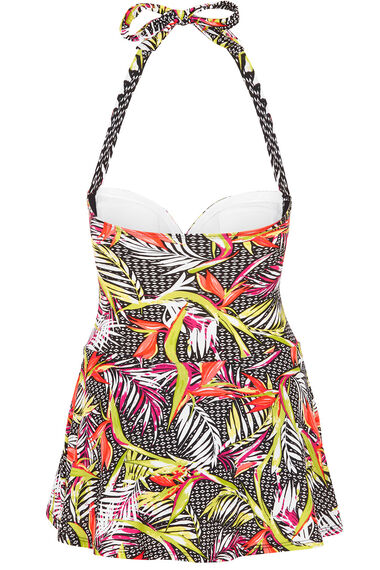 Printed Multiway Swimdress