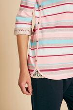 Stripe Snit Tunic