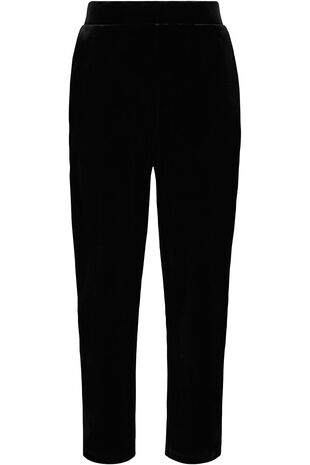 Ann Harvey Velour Tapered Leg Trouser