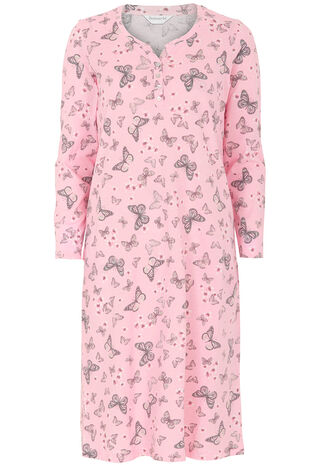 Butterfly Print Nightdress