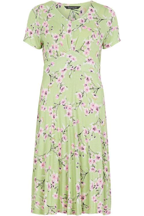 Oriental Blossom Tea Dress